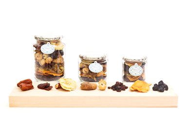 Maharaja Fruits Assortment Glass Jar Series