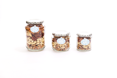 Maharaja Raw Nuts Assortment Glass Jar Series